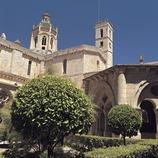 Claustro gótico del monasterio cisterciense de Santes Creus