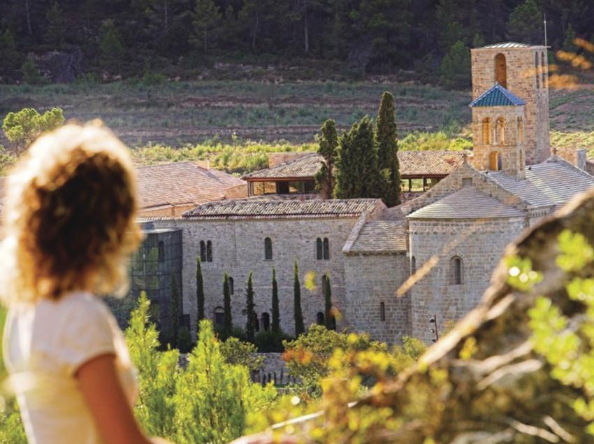 Monasterio de Sant Benet de Bages. (Fundació Catalunya-La Pedrera)