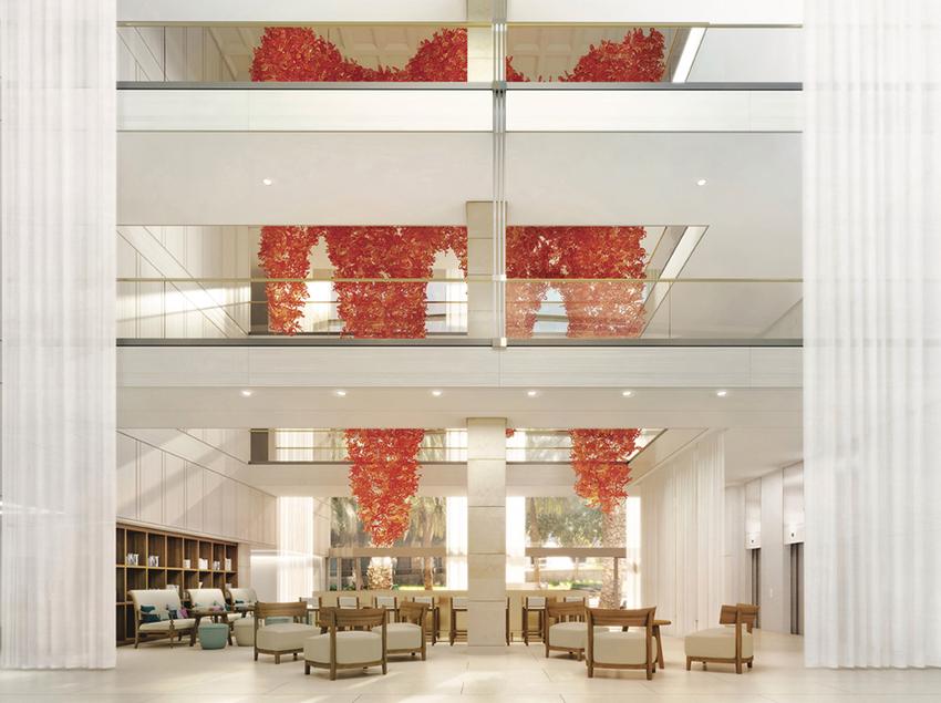 Vestíbulo del hotel Hilton Barcelona (Hilton Barcelona)