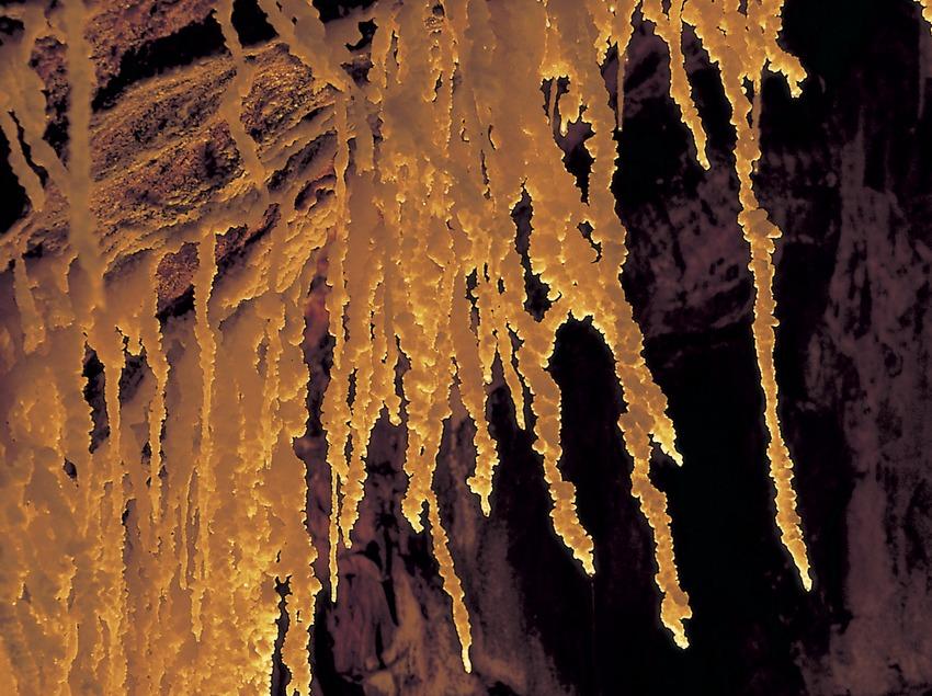 Interior de la mina de sal.  (Turismo Verde S.L.)