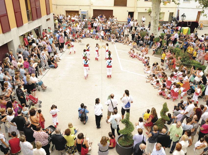 Ball de gitanes a Sant Pere de Riudebitlles (Ajuntament de Sant Pere de Riudebitlles)