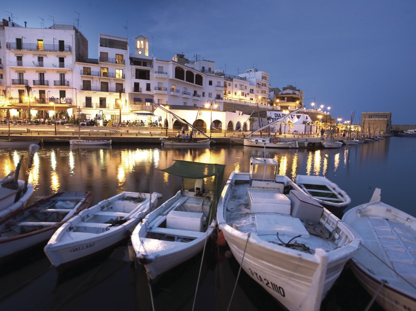 Vista nocturna del port  (Miguel Angel Alvarez)