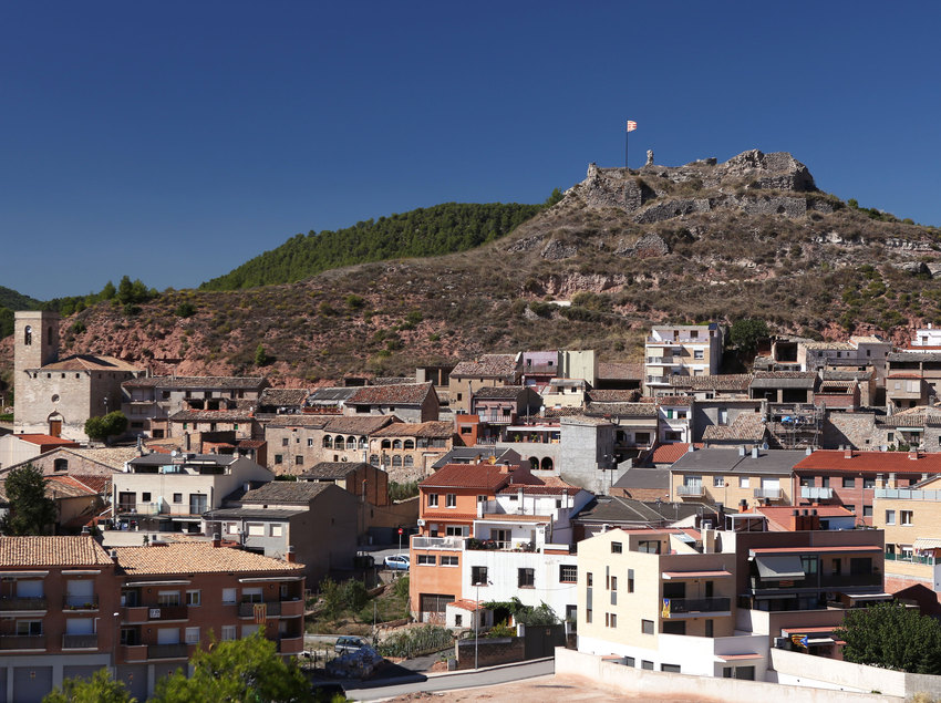 Vistes del poble de Jorba en el Vallès Oriental (Ajuntament de Jorba)