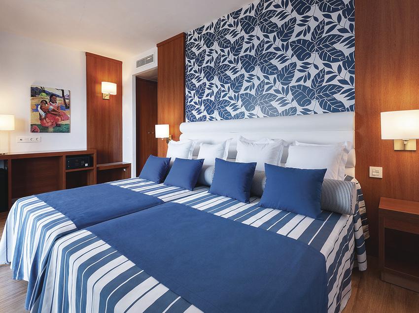Habitación Superior VIP en el Hotel Tahití Playa.