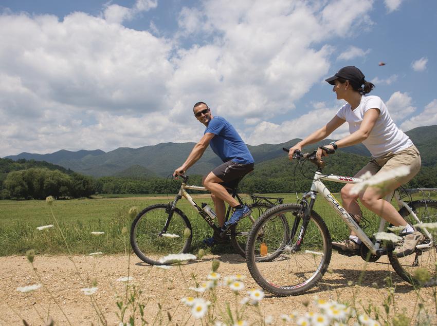 Ruta amb bicicleta per la Garrotxa.