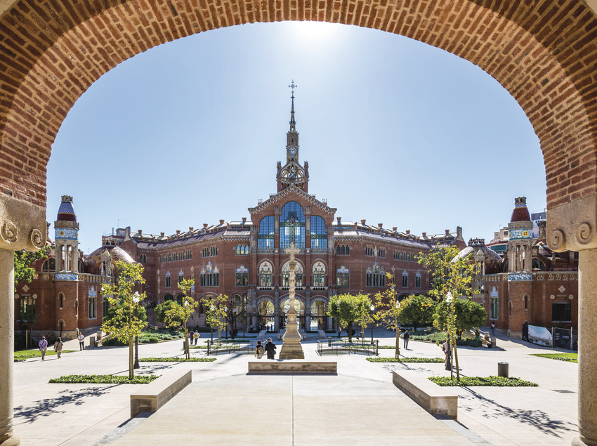 Vista general de l'hospital de Sant Pau (Robert Ramos)