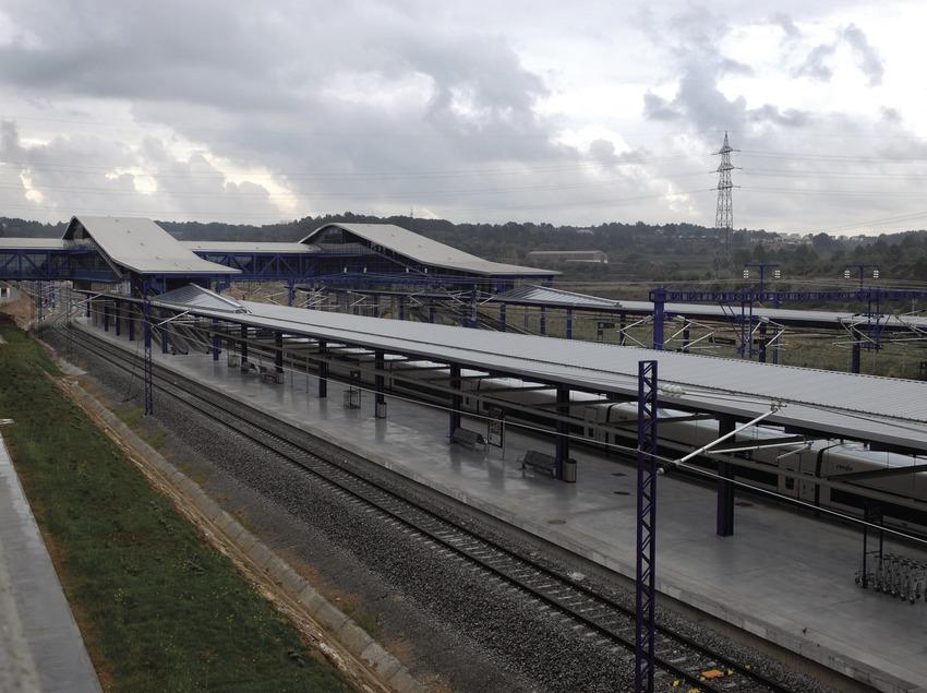 Estación del AVE del Camp de Tarragona.  (Tina Bagué)