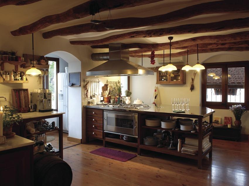 Cocina del hotel Catacurian  (Tina Bagué)