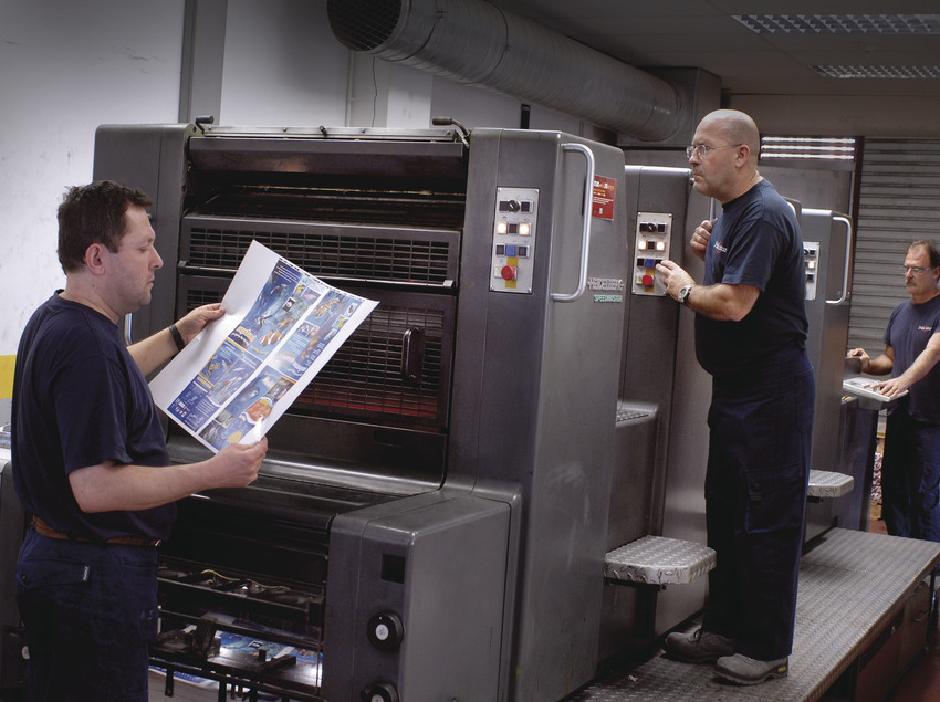 Servicios de impresión de la empresa Publintur.