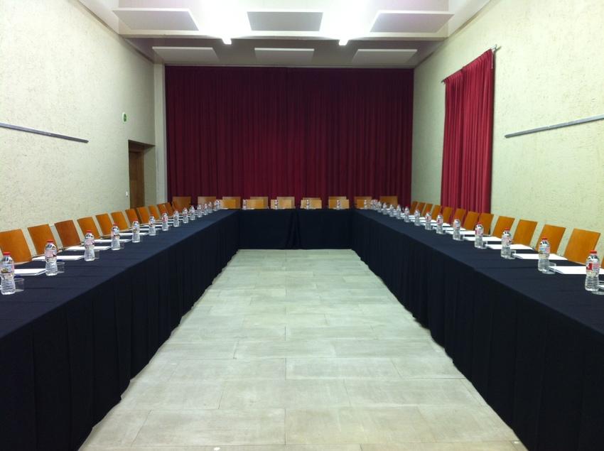 Sala de reunions al monestir de Poblet.