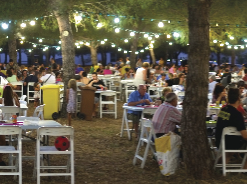 Feria de la brasa en Celrà.