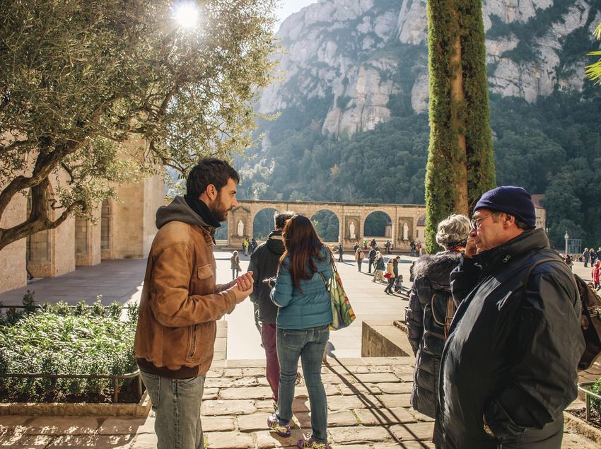 Ruta de vins a Montserrat.