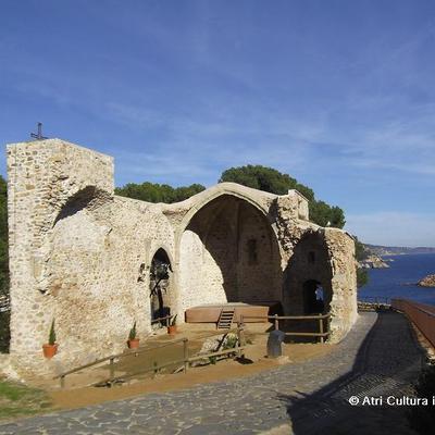 Església vella de Sant Vicenç, a Tossa de Mar.