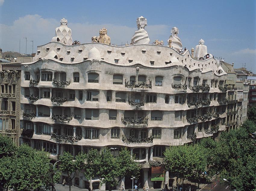Casa Milà, La Pedrera.  (Turisme de Barcelona)