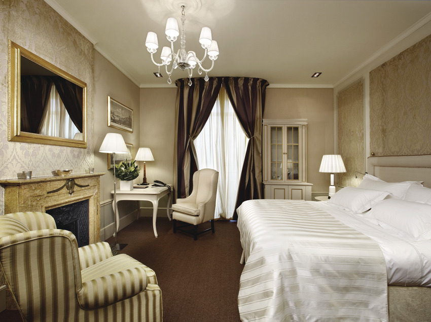 Suite del hotel El Palace, en Barcelona.