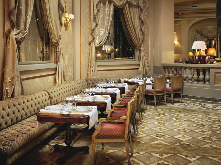 Restaurante del hotel El Palace, en Barcelona.