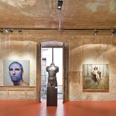 Exposició d'art al MEAM.