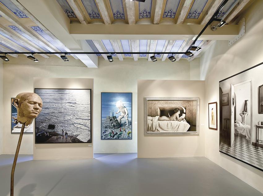 Sala d'exposició al MEAM.