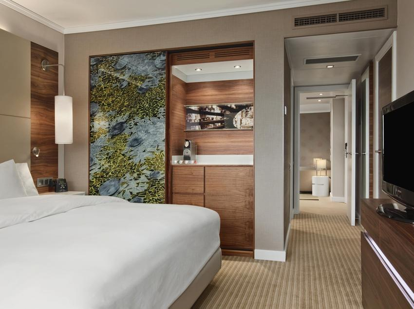 Junior Suite del Hilton Barcelona.