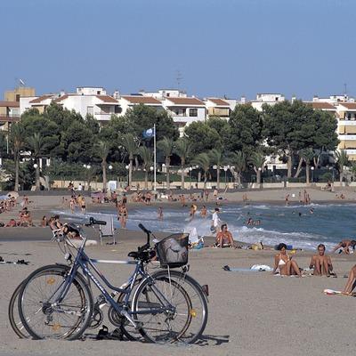 Playa de Hospitalet de l'Infant.  (Rafael López-Monné)