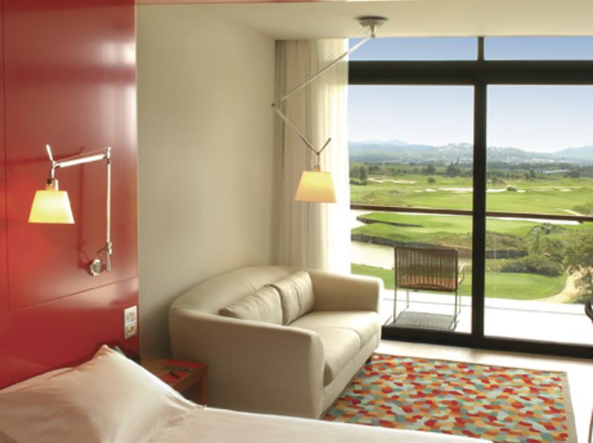 Interior d'una habitació d'hotel.