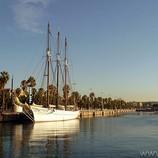 Vaixells al Port Vell, Barcelona.