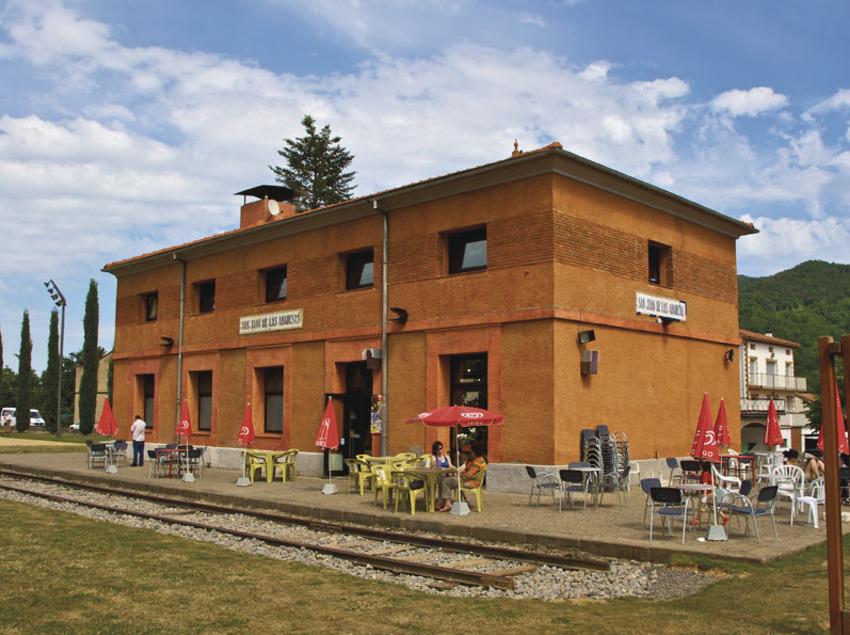 Estación de Sant Joan de les Abadesses.