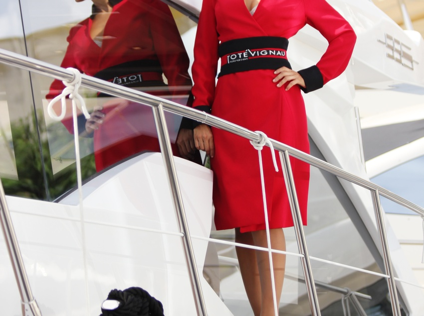 Hostessa de vaixell.
