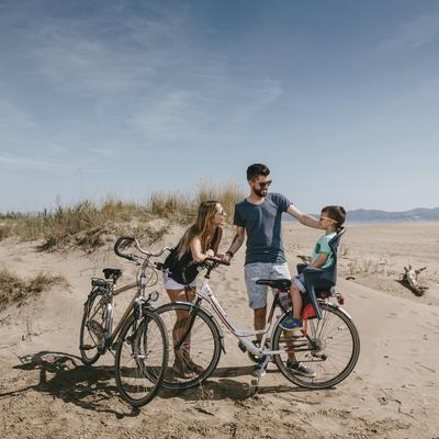 Excursió en bicicleta prop de Sant Pere Pescador.