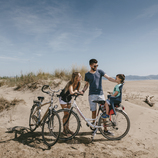 Excursión en bicicleta cerca de Sant Pere Pescador.