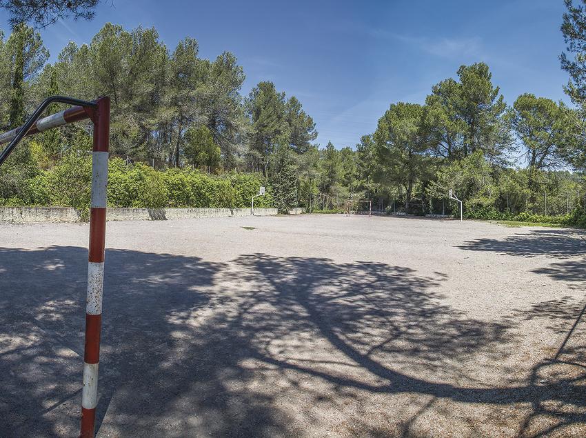 Camp de futbol de l'Alberg Centre Espiritual Josep Manyanet