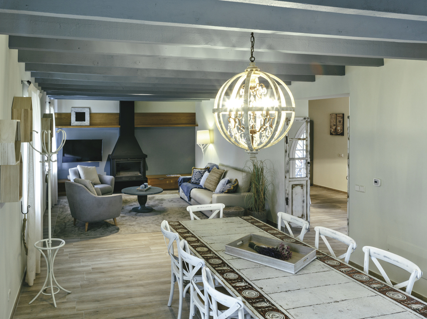Sala de estar del alojamiento HUTG-023572