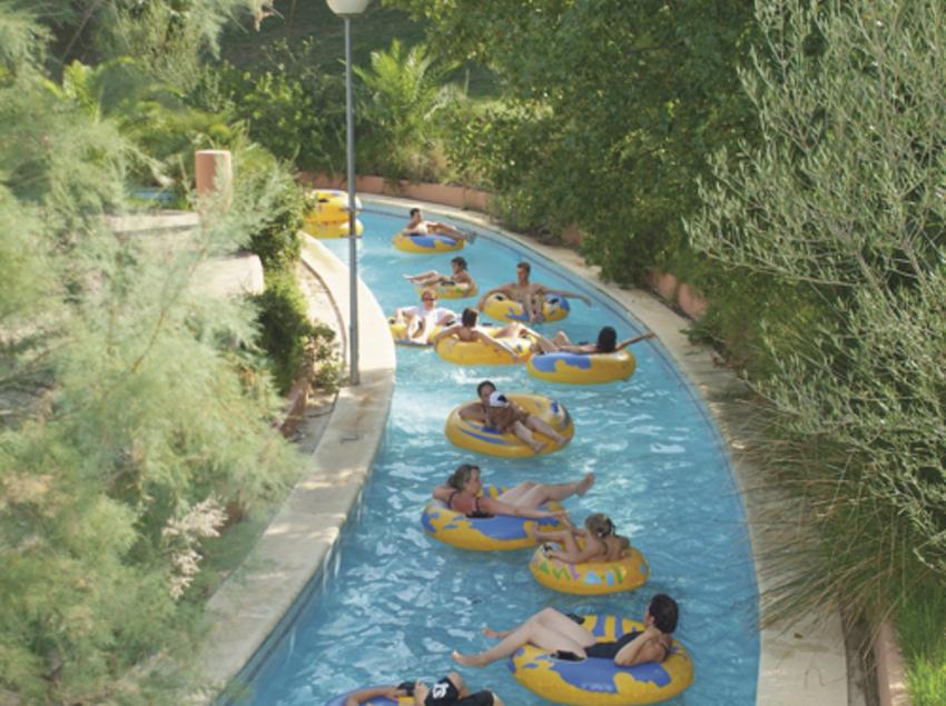 Atracció Riu Gran del parc aquàtic AquaBrava de Roses
