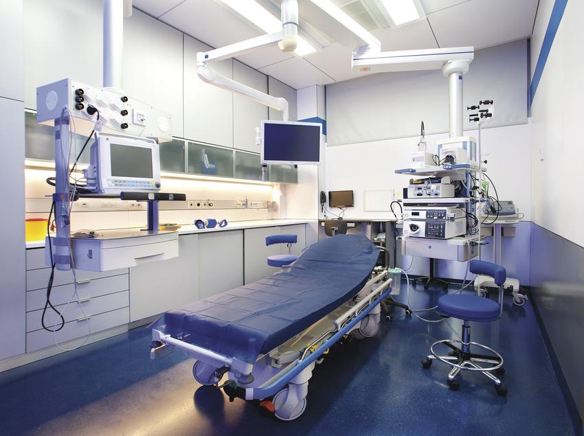 Sala d'operacions de la clínica ServiDigest.