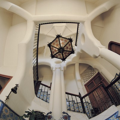 Interior de la torre Bellesguard.  (Toni Vidal)