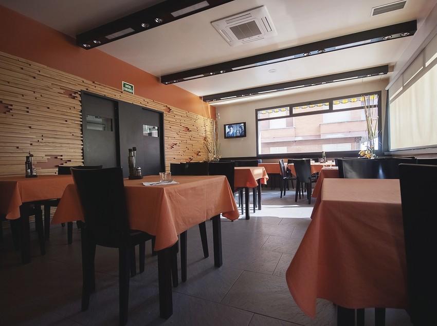 Sala del restaurant La Teula.