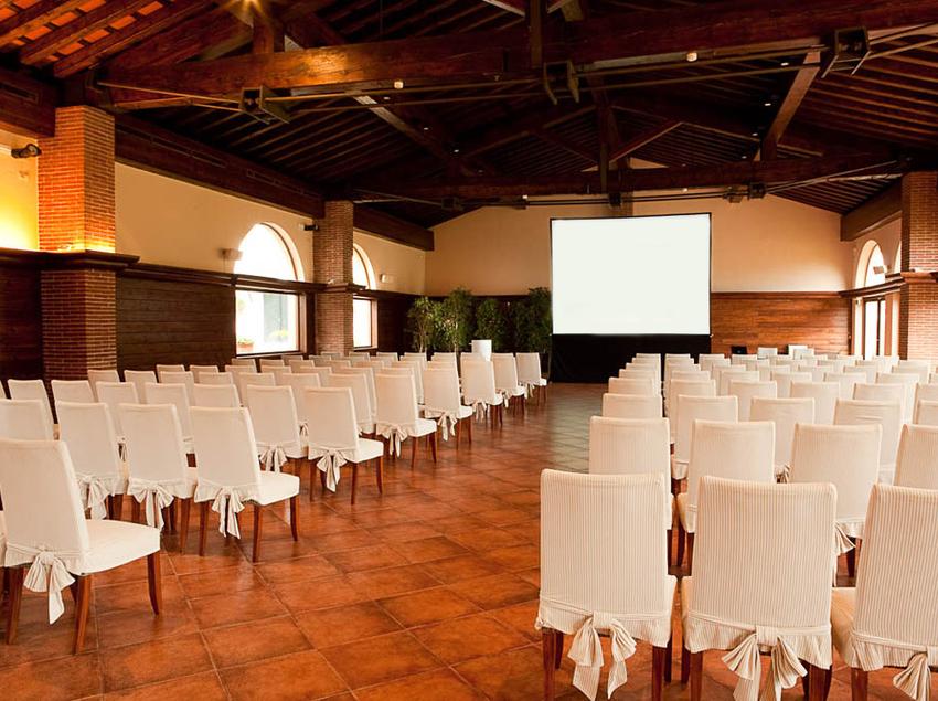 Sala para conferencias.