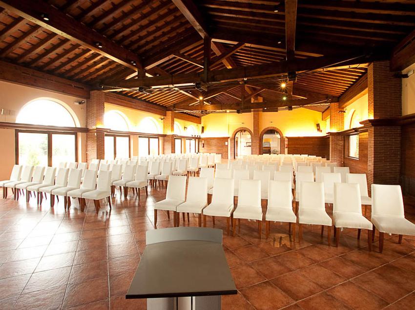 Sala per a conferències.