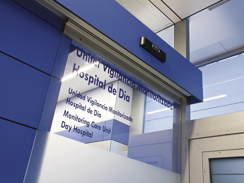 Hospital de dia de la clínica ServiDigest.