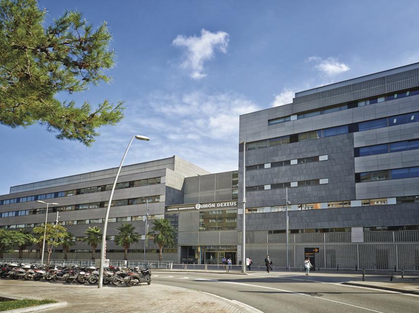Fachada del Hospital Universitario Dexeus.