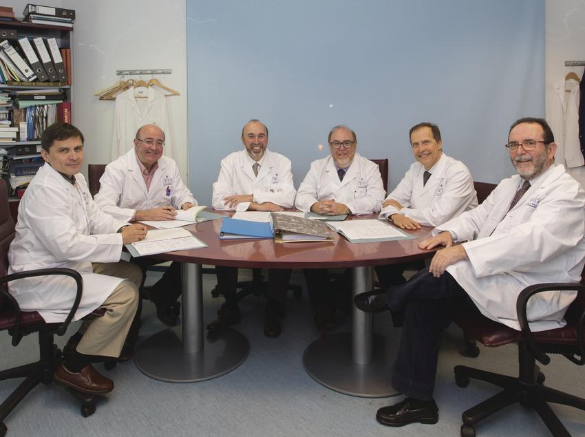 Equipo médico del Instituto Médico d'Onco-Radioteràpia (IMOR).