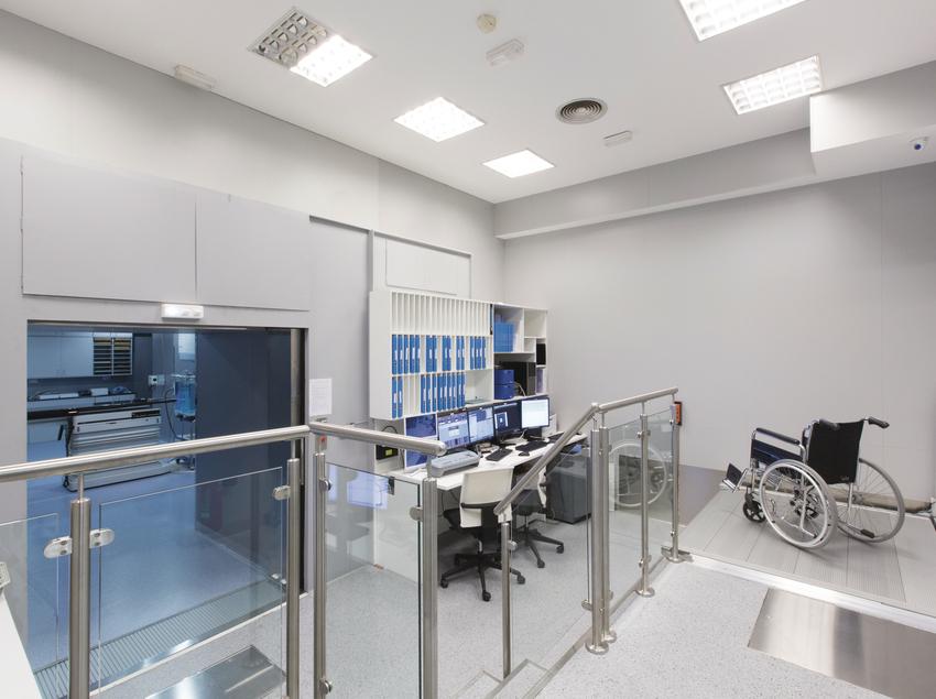 Instalaciones del Instituto Médico de Onco-Radioterápia (IMOR).