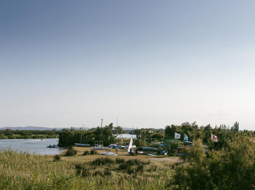 Embarcadero en el rio Fluvià de Sant Pere Pescador