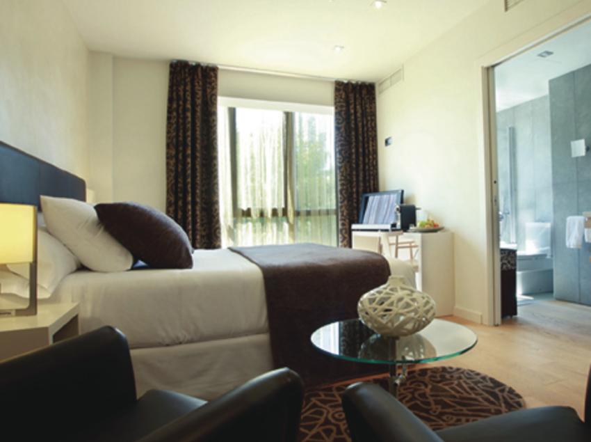 Habitació de l'hotel Ca l'Arpa