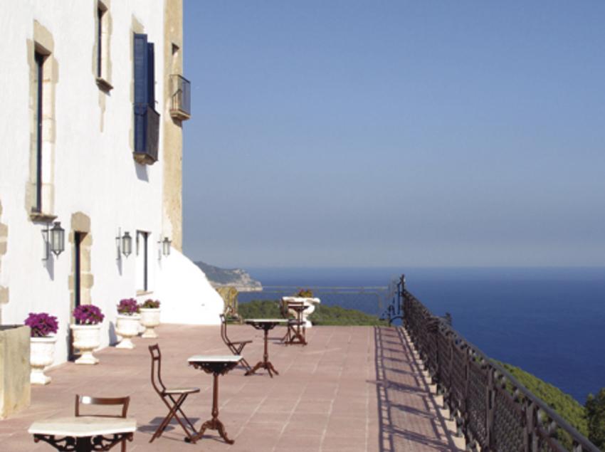 Vistas des de la terraza del hotel el Far de Sant Sebastià