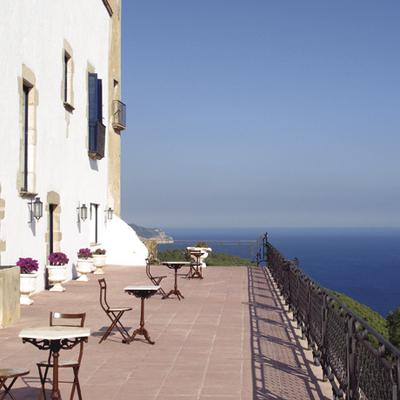 Vistes desde la terrassa del hotel el Far de Sant Sebastià