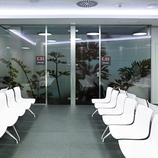 Sala de espera del Institut Comtal d'Oftalmologia