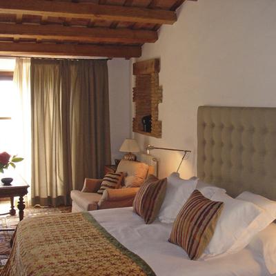 Habitació del Hotel Can Carbó de les Olives