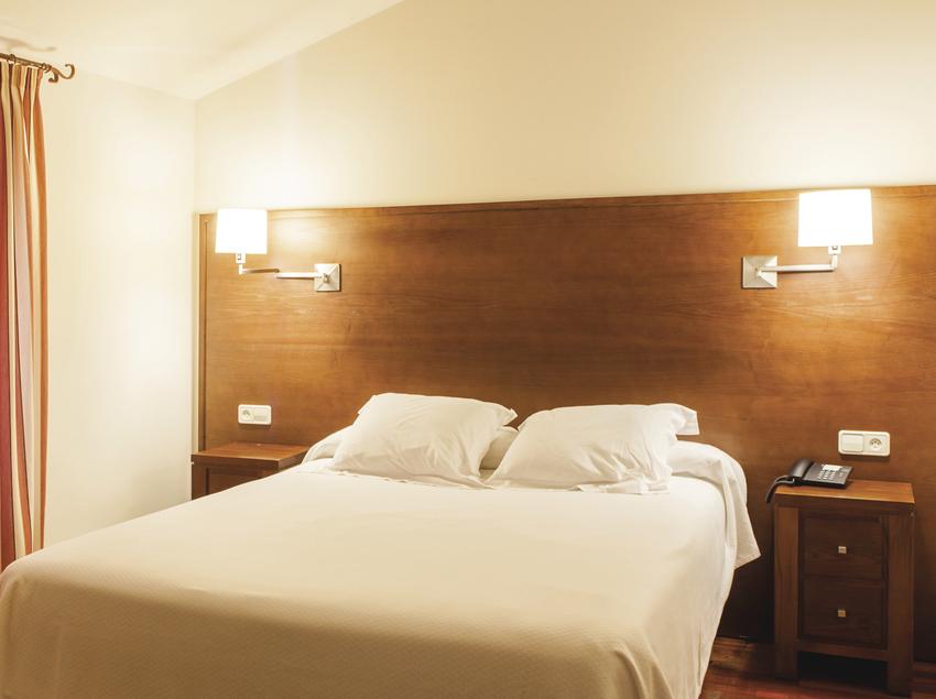 Habitació del hotel Mas Ros