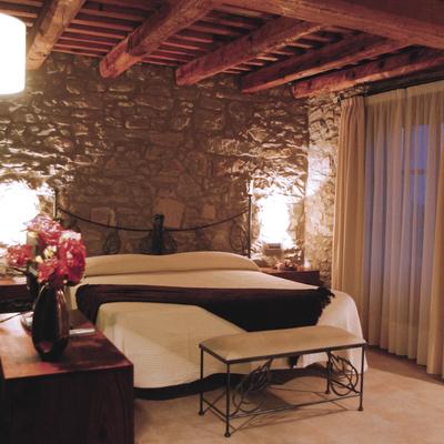 Habitació del hotel Cal Majoral